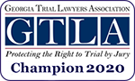 Georgia Trial Lawyers Association || GTLA || Protecting The Right to Trial by Jury || Champion 2020